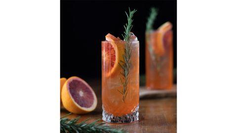 Amy Traynor's Blood Orange Turmeric Collins