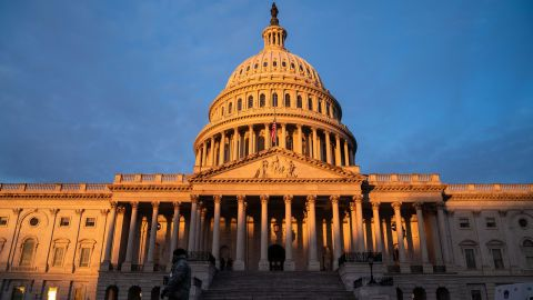 The sun rises on the  U.S. Capitol Building, where heightened security measures are in place nearly a week after a pro-Trump insurrectionist mob breached the security of the nations capitol while Congress voted to certify the 2020 Election Results on Monday, Jan. 11, 2021 in Washington, DC.