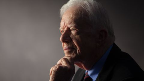 """Carter was interviewed for """"The Presidents' Gatekeepers"""" project at the Carter Center, Atlanta, Georgia, in September 2011."""