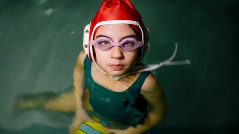 """<strong>Sabrina, 6: </strong>""""I love water polo, and I can lift just one eyebrow, and I speak Farsi and play tennis, and I can make people laugh by making funny faces."""""""