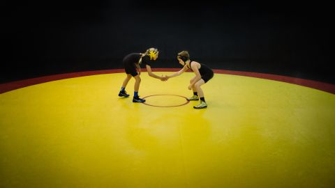 """<strong>Rachel, 11: </strong>""""In wrestling, girls have an advantage. The guys think less of you until you are face-to-face with them!"""""""