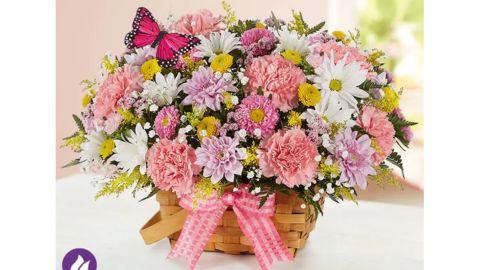 Blossoming Blooms Basket