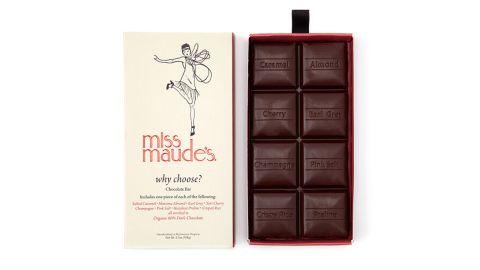 Why Choose? 8-Flavor Chocolate Bar