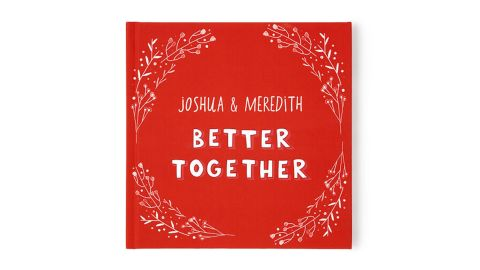 Better Together Personalized Book of Love