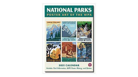 National Parks WPA Wall Calendar 2021