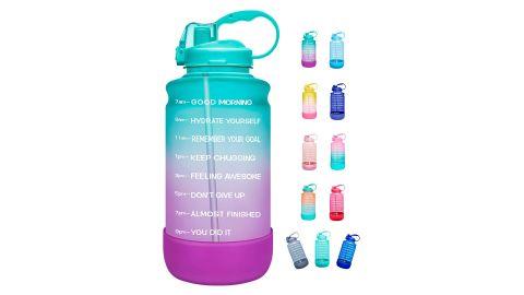 Elvira Half Gallon Motivational Water Bottle