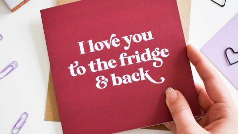 PurpleTreeDesignsUK Valentine's Day Card