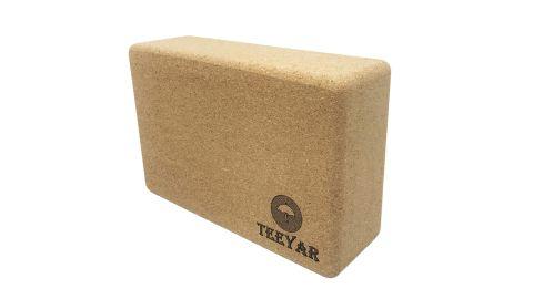 Teeyar Cork Yoga Brick