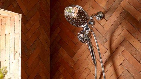 Moen Attract Dual Shower Head and Handheld Shower Head
