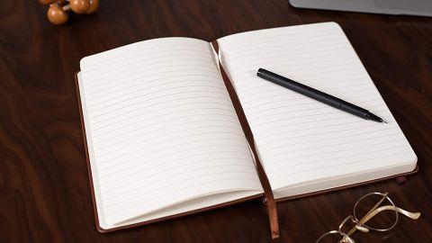Hardcover Vegan Leather Journal