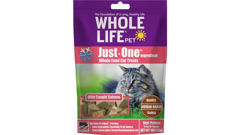 Whole Life Just One Ingredient Cat Treats