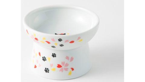 Necoichi Raised Cat Food Bowl