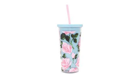 Rose Parade Sip Sip Tumbler With Straw