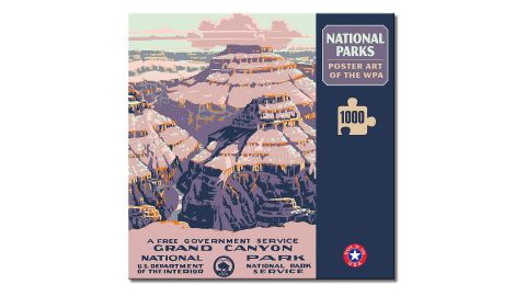 Grand Canyon National Park Poster Art of The WPA 1,000-Piece Jigsaw Puzzle