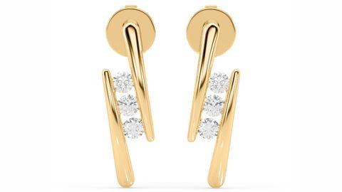 With Clarity Olympian Lab Diamond Earrings