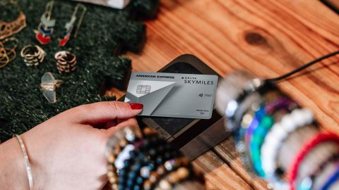 The Delta Platinum Amex credit card is a good choice for regular Delta flyers who want help earning elite status.