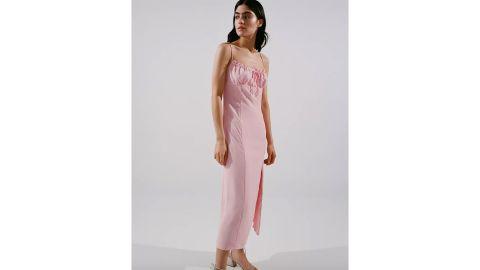 UO April Tie-Back Midi Slip Dress