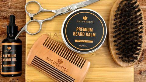 Naturenics Premium Beard Grooming Kit
