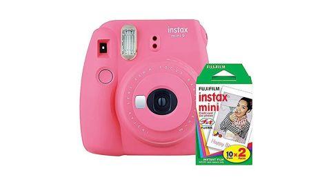 Fujifilm Instax Mini 9 Camera With Fuji Instant Film Twin Pack