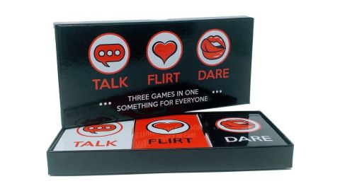 Talk, Flirt, Dare Card Game