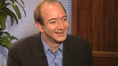 In an interview with CNN in 1999, Amazon founder Jeff Bezos said he was surprised by Amazon's success.