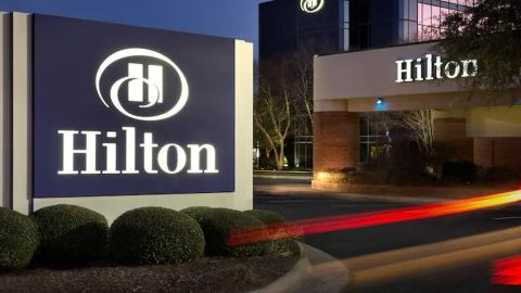 Business owners who frequent properties like the Hilton Greenville in South Carolina should consider the Hilton Amex Business card.