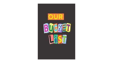 "Creative Smart Journals ""Our Bucket List"" Journal"