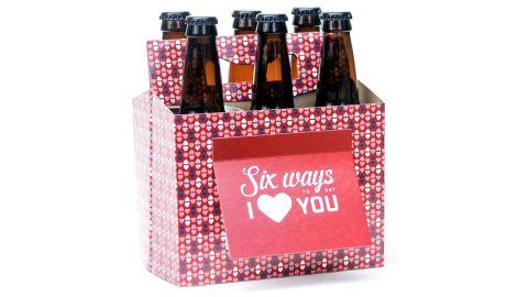 Beer Greetings Six-Pack Greeting Card Box, Set of 4