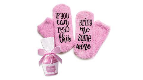 Cinch! Wine Socks