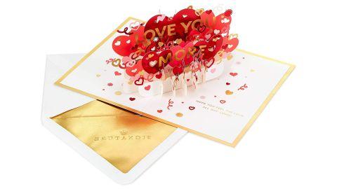 Hallmark Signature Wonder Pop Valentine's Day Card