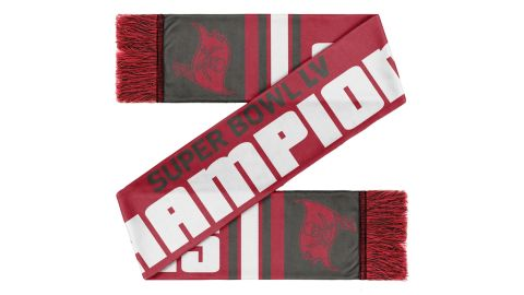 Tampa Bay Buccaneers FOCO Champions Scarf