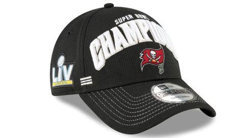 Men's Tampa Bay Buccaneers New Era Champions Locker Room Hat