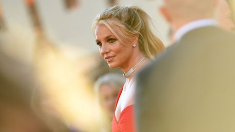 Britney Spears arrives for a movie premiere in Hollywood in July 2019.