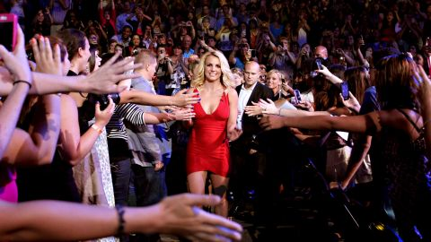 """In 2012, Spears became a judge on the TV show """"The X Factor."""""""