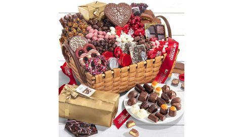 Simply Decadent Chocolate Decadent Valentine Gift Basket
