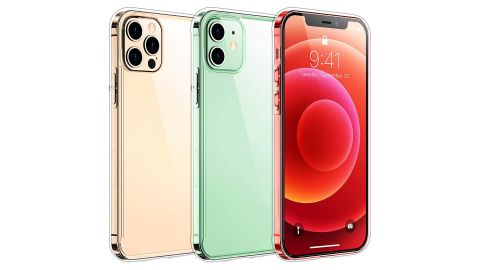 Temdan Clear Case for iPhone 12 & 12 Pro