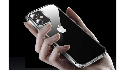 Casekoo Crystal Clear Case for iPhone 12 & 12 Pro