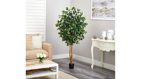 Nearly Natural Ficus Artificial Tree