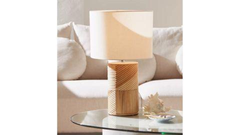 Ria Rattan Table Lamp