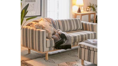 Quinn Striped Sofa