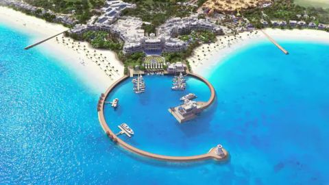Use your Hilton Aspire benefits to stay at getaway spots like the Hilton Salwa Beach Resort & Villas.