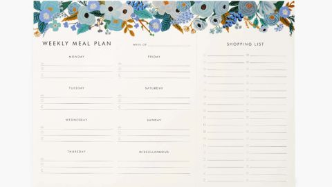 Rifle Paper Co. Weekly Meal Planner