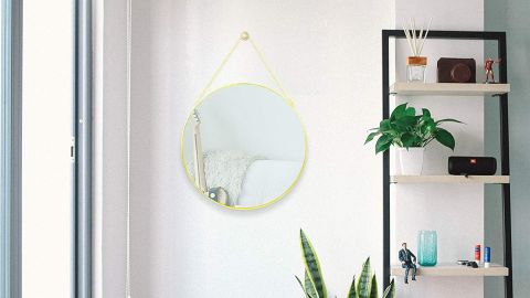 CoolXuan Round Hanging Mirror