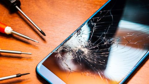 If your cell phone is damaged or stolen, make sure to precisely follow all your credit card's procedures in order to get reimbursed.