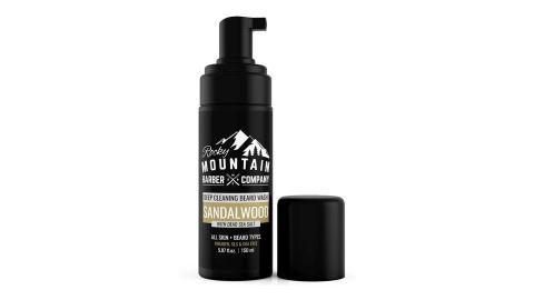 Rocky Mountain Barber Company Foaming Sandalwood Beard Wash