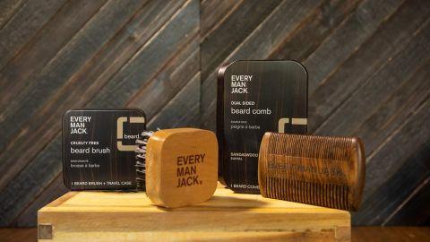 Every Man Jack Beard Brush with Tin