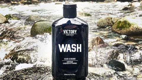 Hair and Beard Wash by Victory Barber & Brand