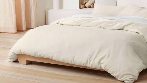 Target's Casaluna Heavyweight Linen Blend Duvet & Pillow Sham Set