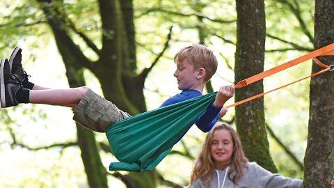 Hape Outdoor Adventure Collection Pocket Swing Hammock