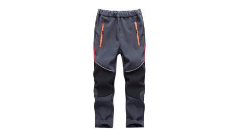Toomett Outdoor Fleece-Lined Soft Shell Pants
